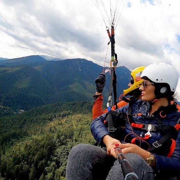 Lot z widokiem na Tatry – Słowacja