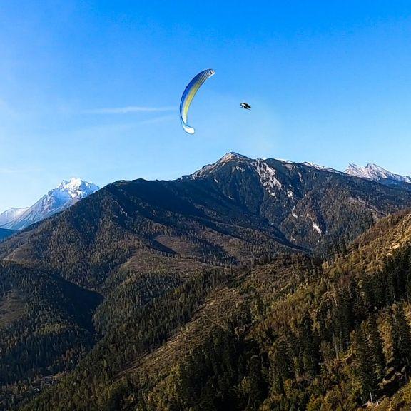 Lot akrobatyczny z widokiem na Tatry – Słowacja